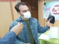 اختراع ماسک ضدریزگرد برای اولین بار در جهان توسط مخترع بسیجی اهل ایلام