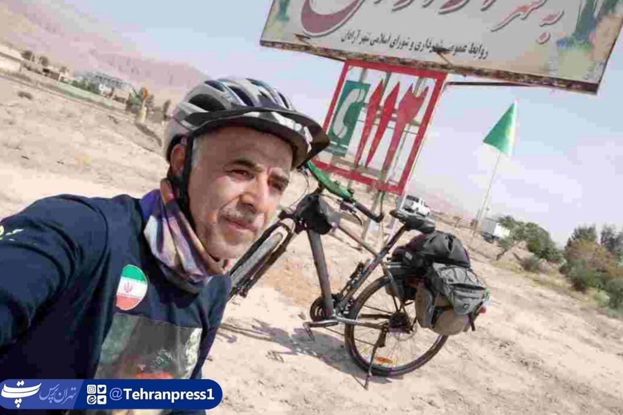 منطقه۱۷ رکابزنی برادر شهید امینی به مناسبت هفته دفاع مقدس